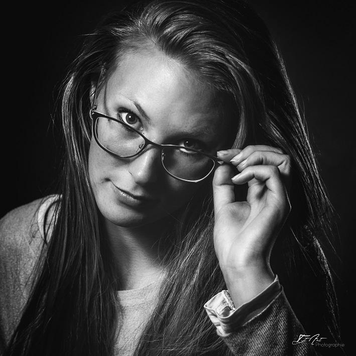 Photo Studio noir et blanc