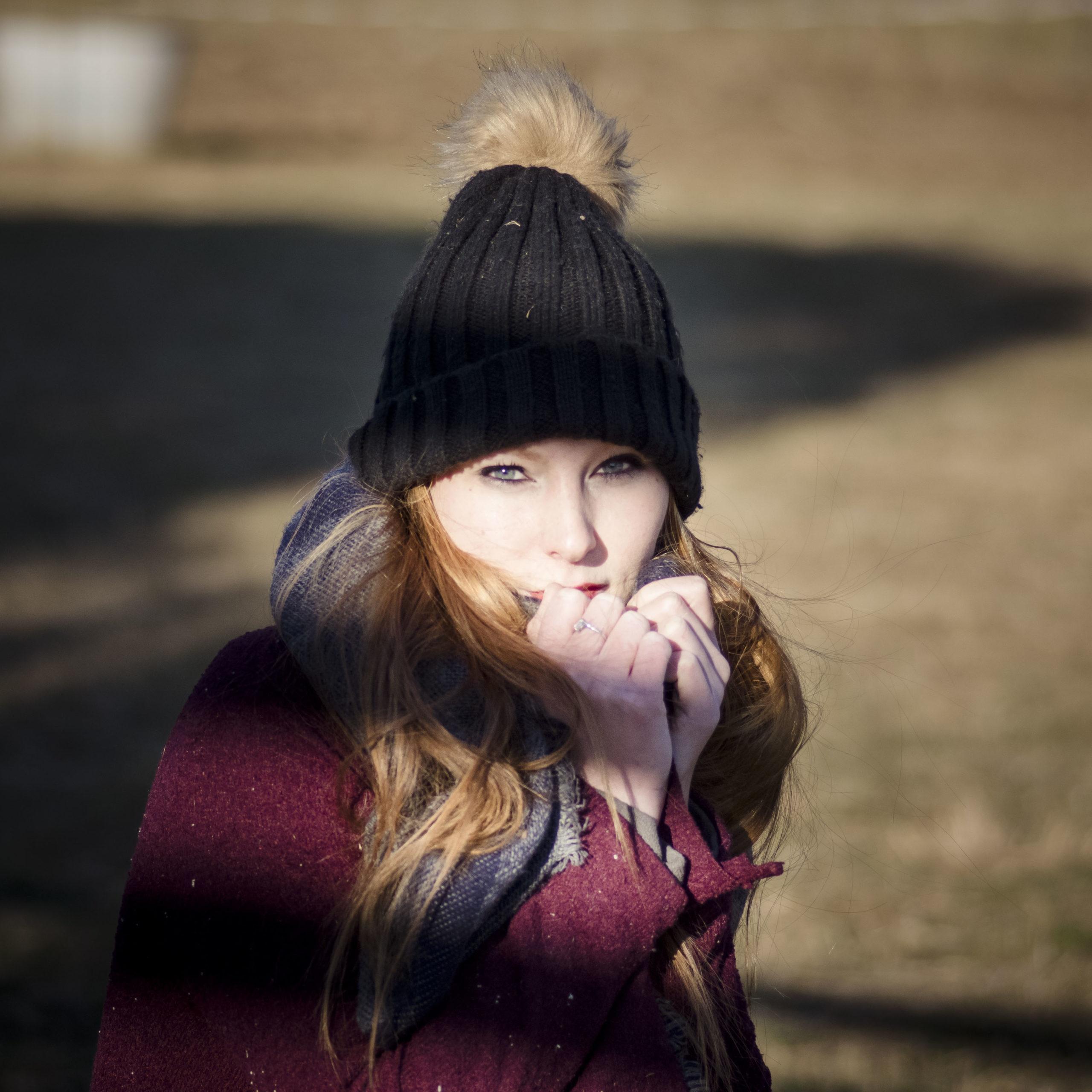 Elodie modèle rousse