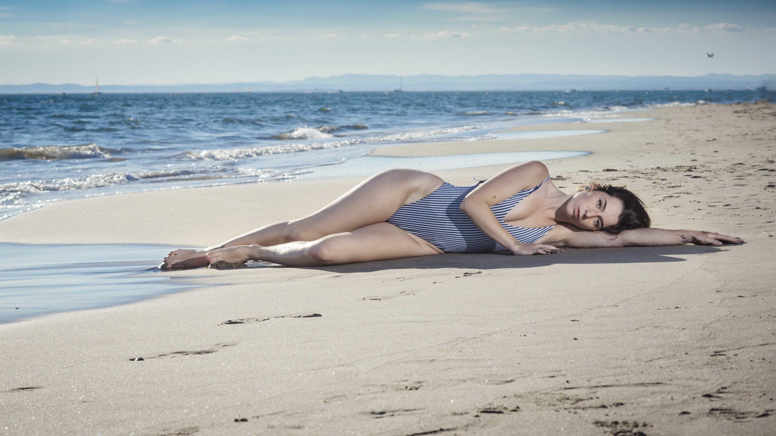 modèle maillot de bain plage