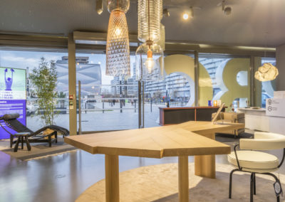 hall accueil RBC Mobilier Montpellier