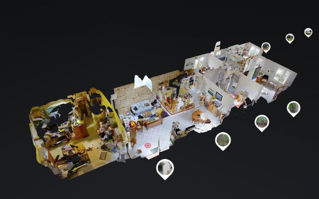 Visite virtuelle Matterport réalisée pour Senzo Immobilier