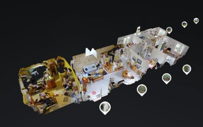 Visite virtuelle réalisée pour Senzo Immobilier