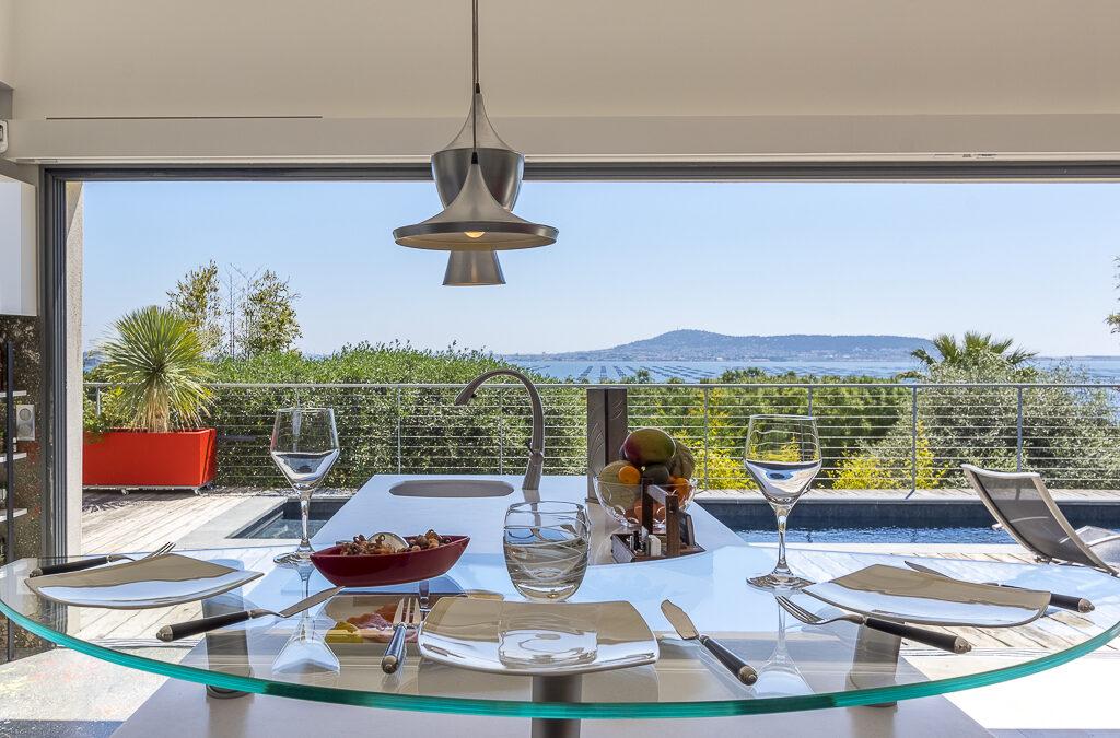 Villa avec vue sur Sète